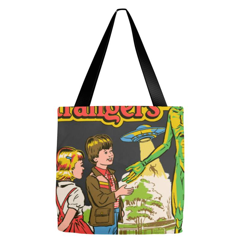 Don Not &x27  Talk To Strangers Classic T Shirt Tote Bags | Artistshot