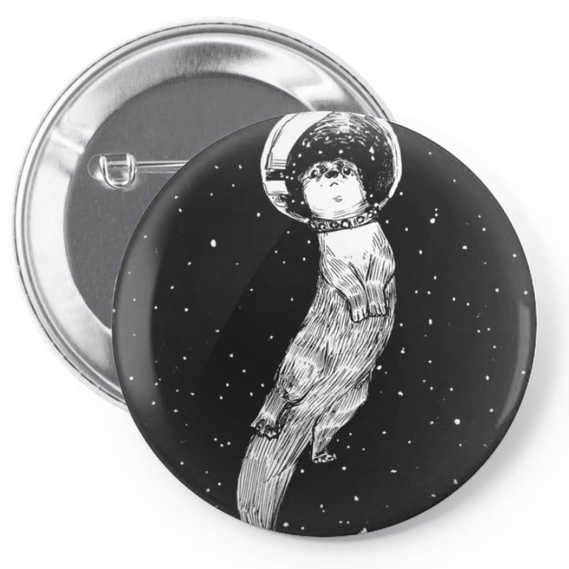 Drifting In Otter Spac.e (best For Color) Essential T Shirt Pin-back Button | Artistshot