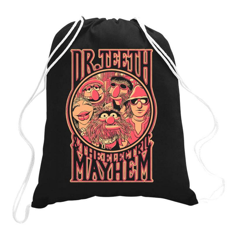 D R.  Tee.th Classic T Shirt Drawstring Bags | Artistshot
