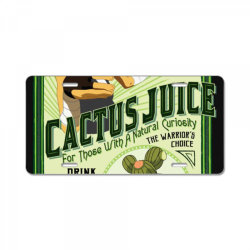 drink cac . tus juice classic t shirt License Plate | Artistshot