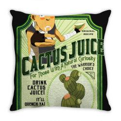 drink cac . tus juice classic t shirt Throw Pillow | Artistshot