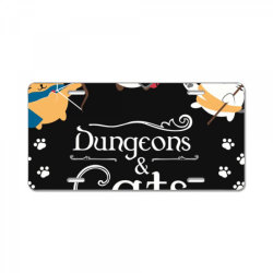 dung .eons and cats essential t shirt License Plate | Artistshot