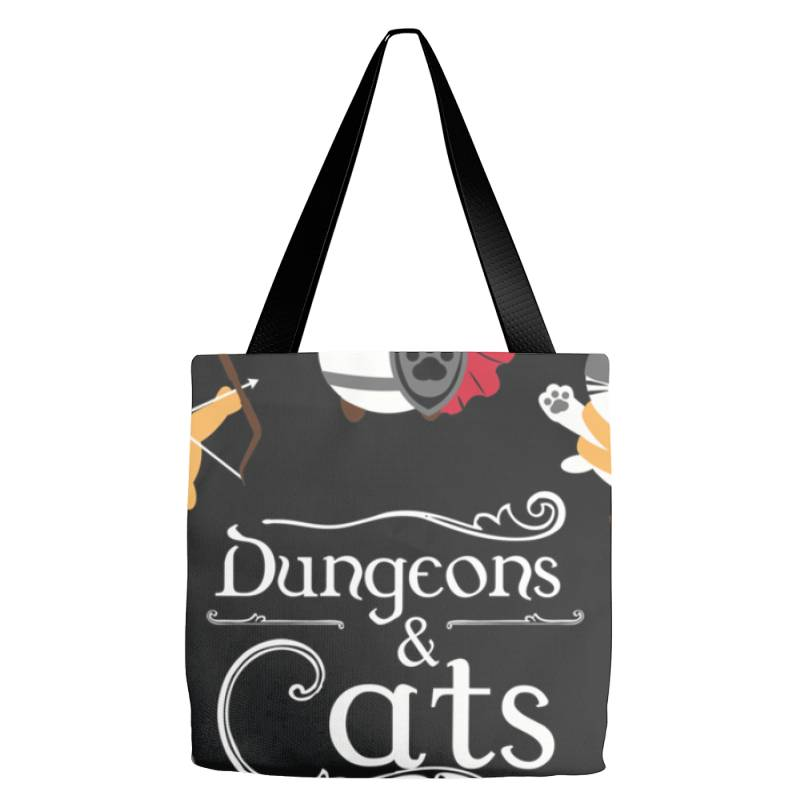 Dung .eons And Cats Essential T Shirt Tote Bags | Artistshot