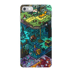 dung .eons and isometric drago classic t shirt iPhone 7 Case | Artistshot
