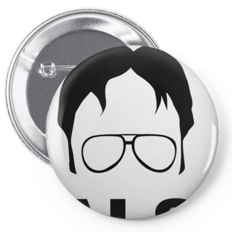 Dwight Schrute False Essential T Shirt Pin-back Button | Artistshot