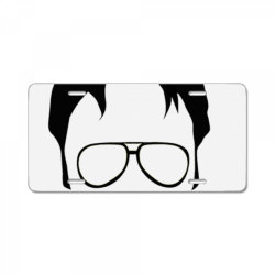 dwight schrute false essential t shirt License Plate | Artistshot