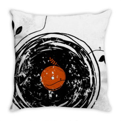 enchanting vinyl records vintage essential t shirt Throw Pillow | Artistshot