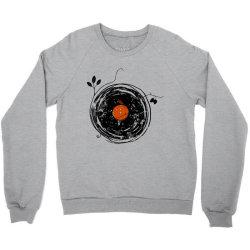 enchanting vinyl records vintage essential t shirt Crewneck Sweatshirt | Artistshot