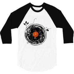 enchanting vinyl records vintage essential t shirt 3/4 Sleeve Shirt | Artistshot