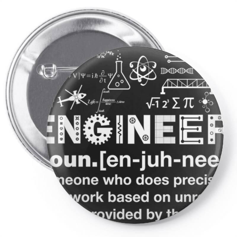 Engineer Hu .mor Definition Essential T Shirt Pin-back Button   Artistshot