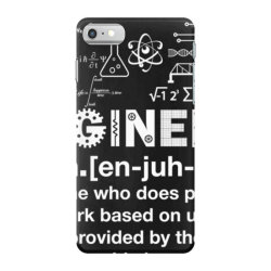 engineer hu .mor definition essential t shirt iPhone 7 Case   Artistshot