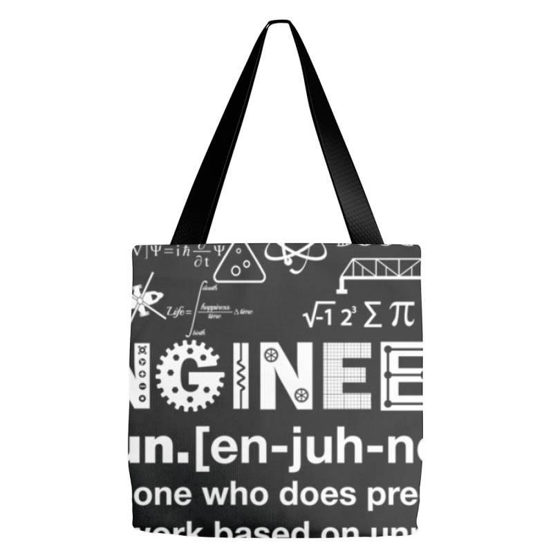 Engineer Hu .mor Definition Essential T Shirt Tote Bags | Artistshot