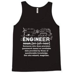 engineer hu .mor definition essential t shirt Tank Top | Artistshot