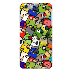 every bir.dy pattern sleeveless top iPhone 6 Plus/6s Plus Case | Artistshot