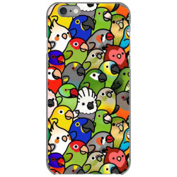 every bir.dy pattern sleeveless top iPhone 6/6s Case | Artistshot