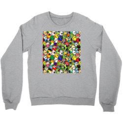 every bir.dy pattern sleeveless top Crewneck Sweatshirt | Artistshot