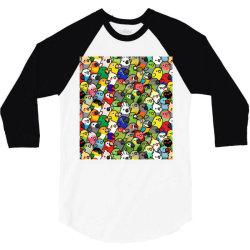 every bir.dy pattern sleeveless top 3/4 Sleeve Shirt | Artistshot