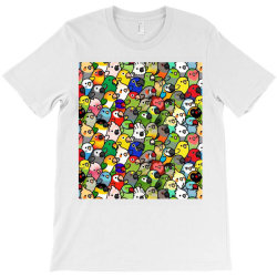 every bir.dy pattern sleeveless top T-Shirt | Artistshot