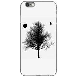 Tree, Eagle Silhouette Calmness Nature iPhone 6/6s Case | Artistshot