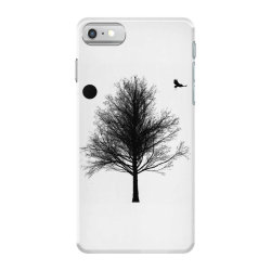 Tree, Eagle Silhouette Calmness Nature iPhone 7 Case | Artistshot