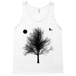 Tree, Eagle Silhouette Calmness Nature Tank Top | Artistshot