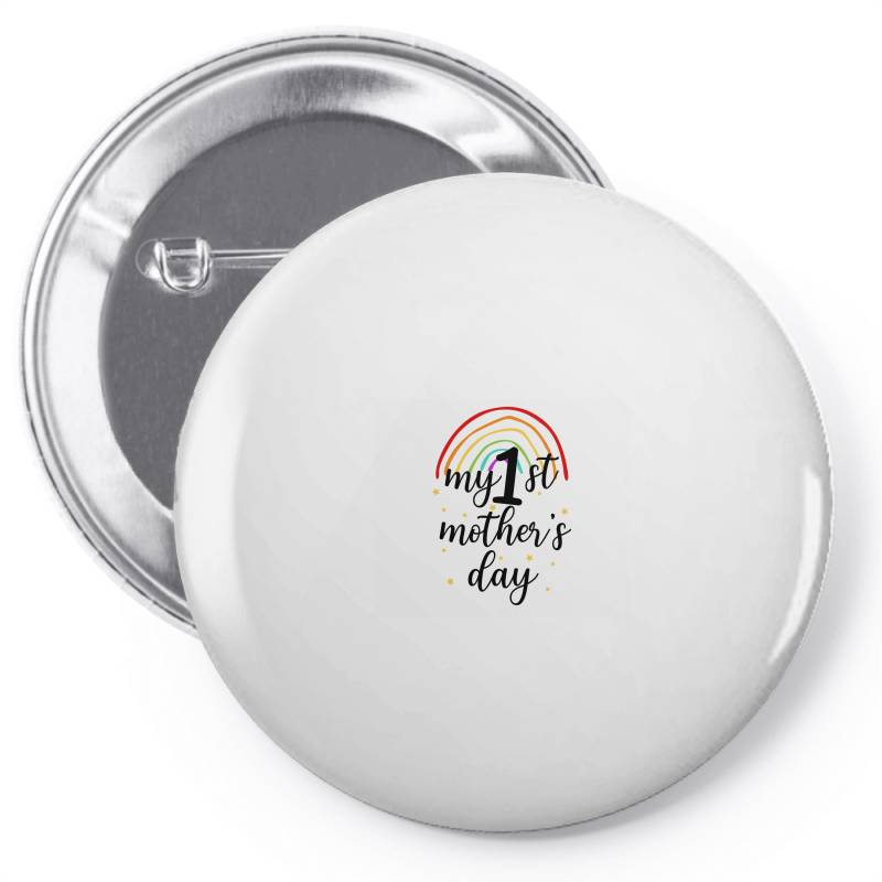 My First Mother's Day Pin-back Button | Artistshot