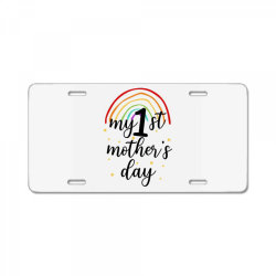 My First Mother's Day License Plate | Artistshot