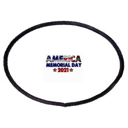 America Memorial Day 2021 Oval Patch Designed By Akin