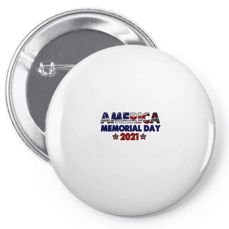 America Memorial Day 2021 Pin-back Button | Artistshot
