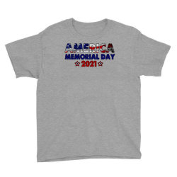 America Memorial Day 2021 Youth Tee Designed By Akin