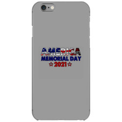 America Memorial Day 2021 iPhone 6/6s Case | Artistshot