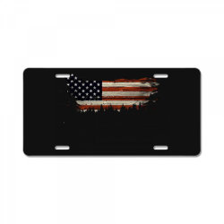 American Flag License Plate | Artistshot
