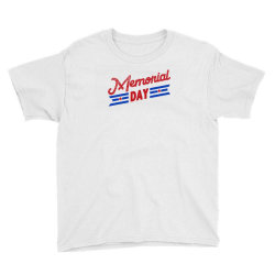 Memorial Day Youth Tee Designed By Akin