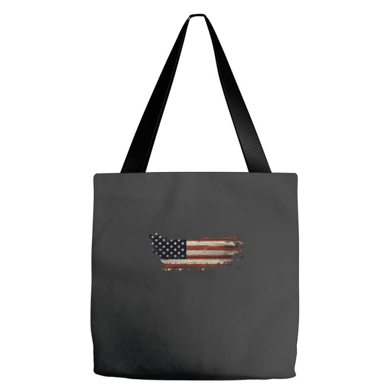 American Flag Tote Bags | Artistshot