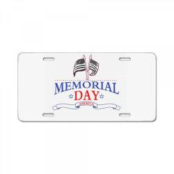 Memorial Day America License Plate | Artistshot