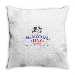 Memorial Day America Throw Pillow | Artistshot