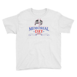 Memorial Day America Youth Tee Designed By Akin
