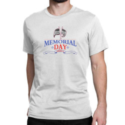 Memorial Day America Classic T-shirt Designed By Akin