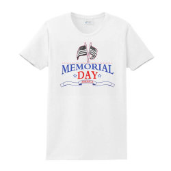 Memorial Day America Ladies Classic T-shirt Designed By Akin