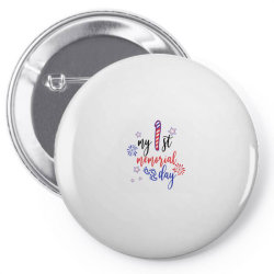 My First Memorial Day Pin-back button | Artistshot