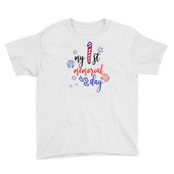 My First Memorial Day Youth Tee Designed By Akin