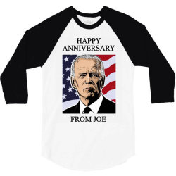 happy anniversary from joe 3/4 Sleeve Shirt | Artistshot