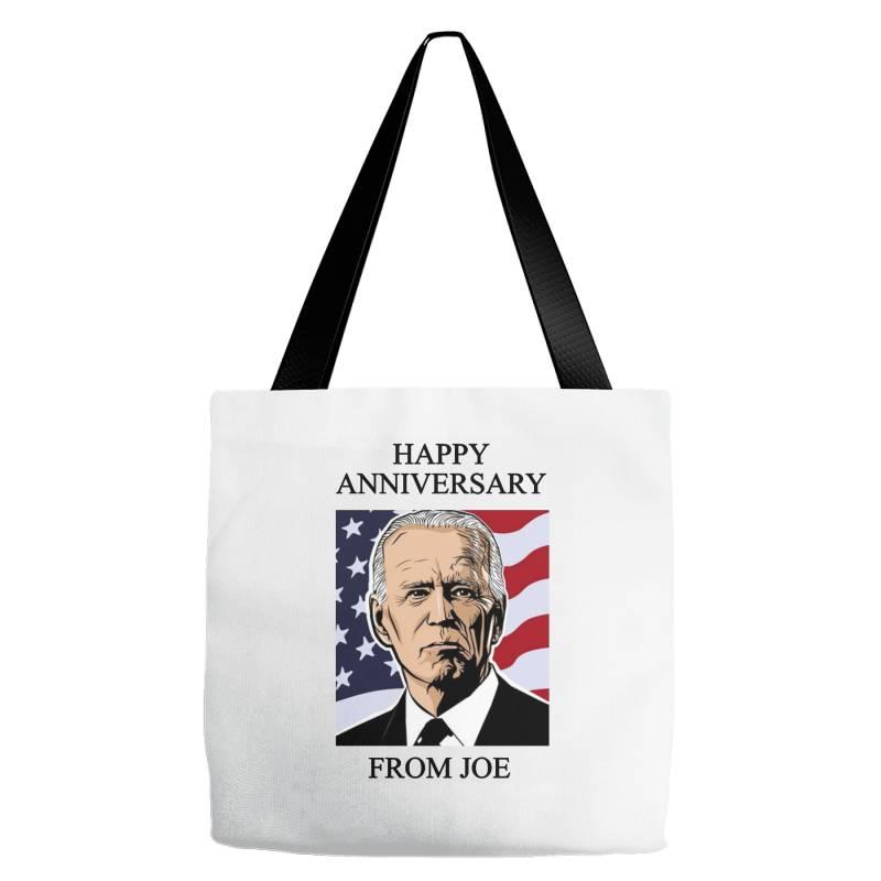 Happy Anniversary From Joe Tote Bags | Artistshot