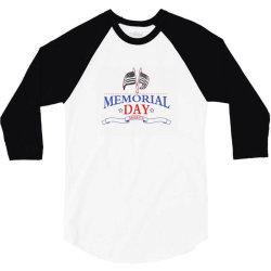 Memorial Day America 3/4 Sleeve Shirt | Artistshot