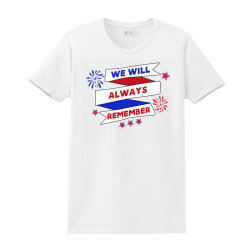 We Will Always Remember Ladies Classic T-shirt Designed By Akin