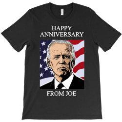 happy anniversary from joe T-Shirt | Artistshot