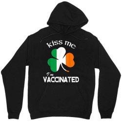 kiss me i'm vaccinated Unisex Hoodie | Artistshot