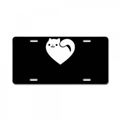 cats heart funny License Plate | Artistshot