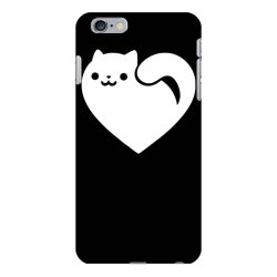 cats heart funny iPhone 6 Plus/6s Plus Case | Artistshot