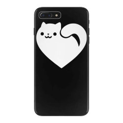 cats heart funny iPhone 7 Plus Case | Artistshot